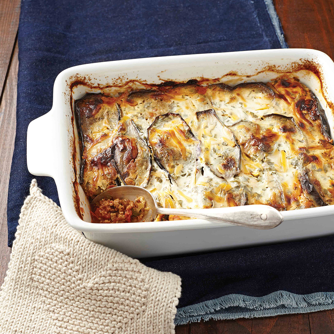 Veggie and mince 'lasagne' - Cooking From The Heart