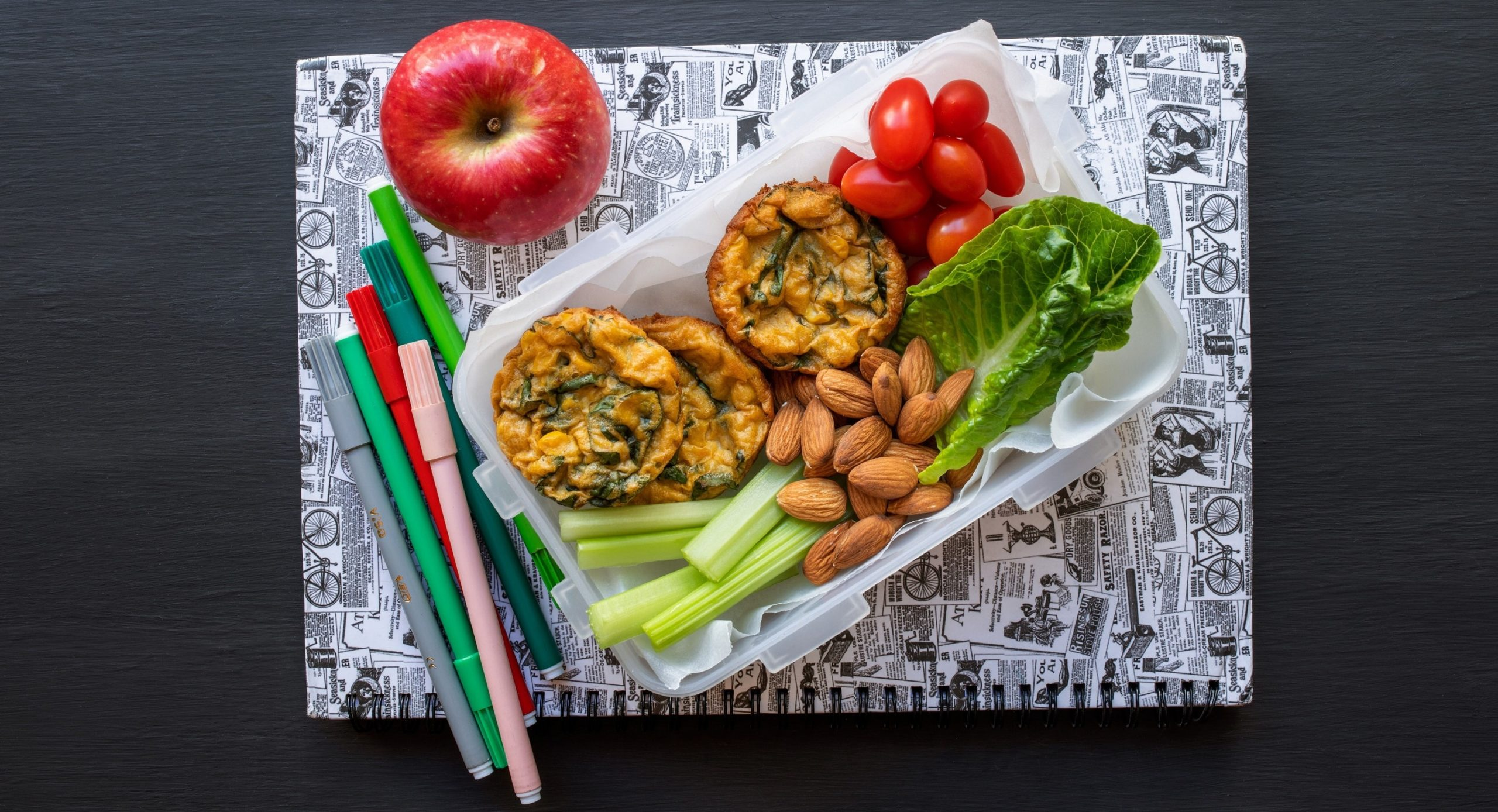 Back to school Spinach and corn bakes